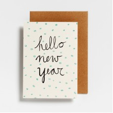 Postkaart Hello New Year