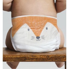 Eco nappies midi (40-pack) - Fox - Midi 5-8kg